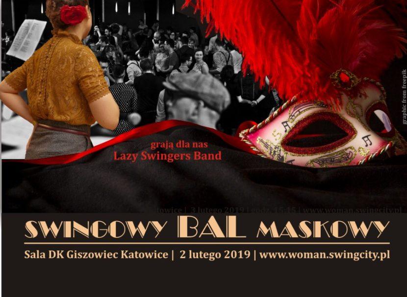 Swingowy Bal Maskowy z Lazy Swingers Band