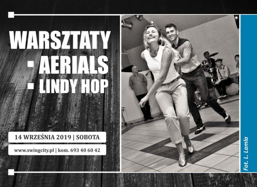 Warsztaty Aerials & Lindy Hop