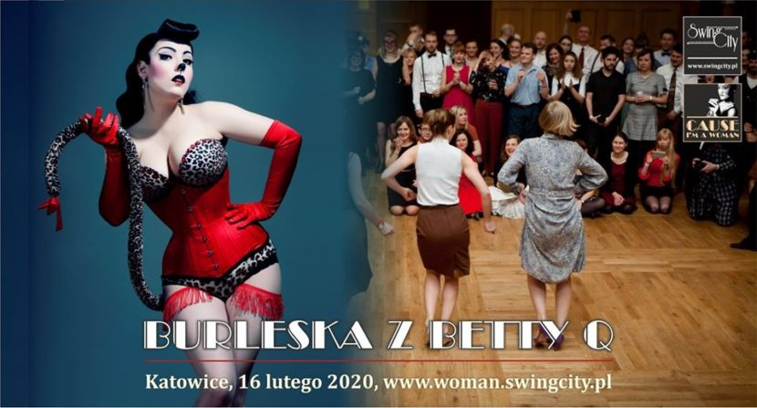 Burleska z Betty Q - Cause I'm a Woman 2020